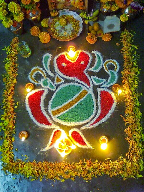 Rangoli Diwali Collection 15