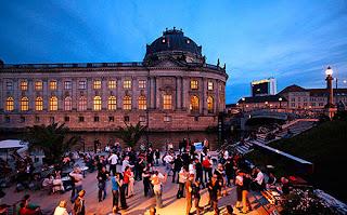 Bar Plage à Berlin - Strandbar Mitte Salsa & Tango
