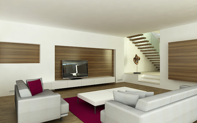 design interior living minimalist