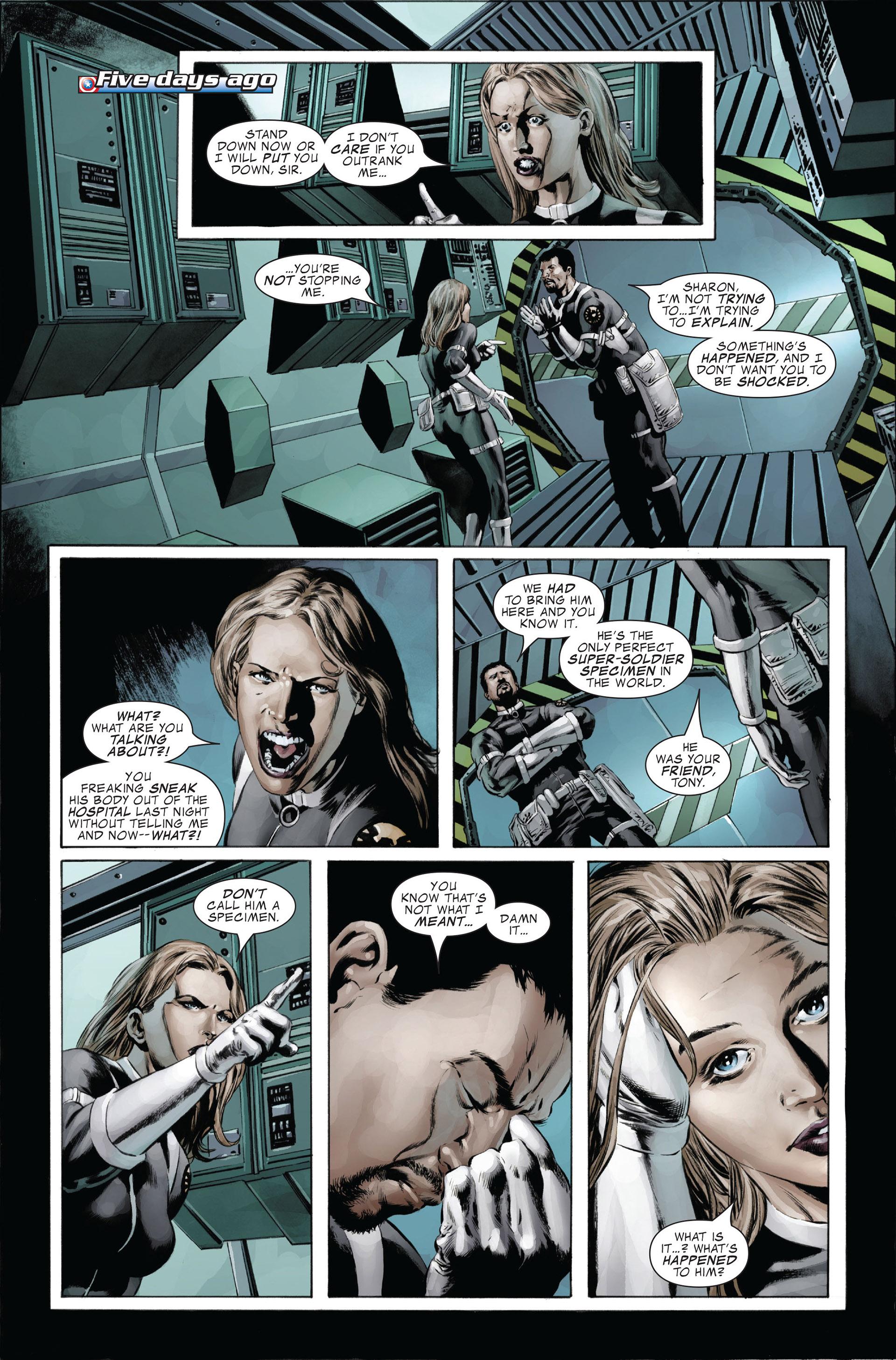 Captain America (2005) Issue #26 #26 - English 4