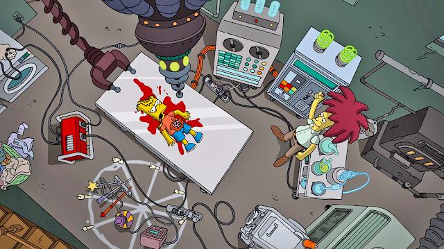 Bob Patiño asesinará a Bart Simpson esta noche Halloween [Spoiler Alert!]