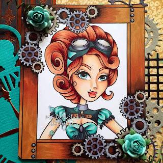 Sassy Studio Designs Josephine Steampunk Frame