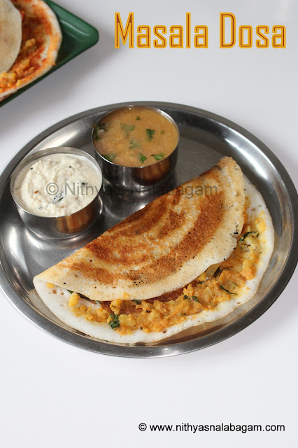 Potato Masala Dosa