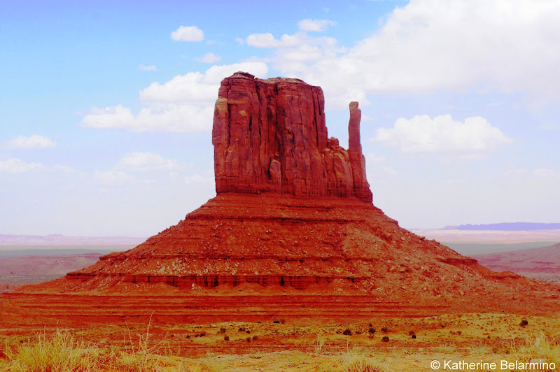 West Mitten Butte Monument Valley Utah