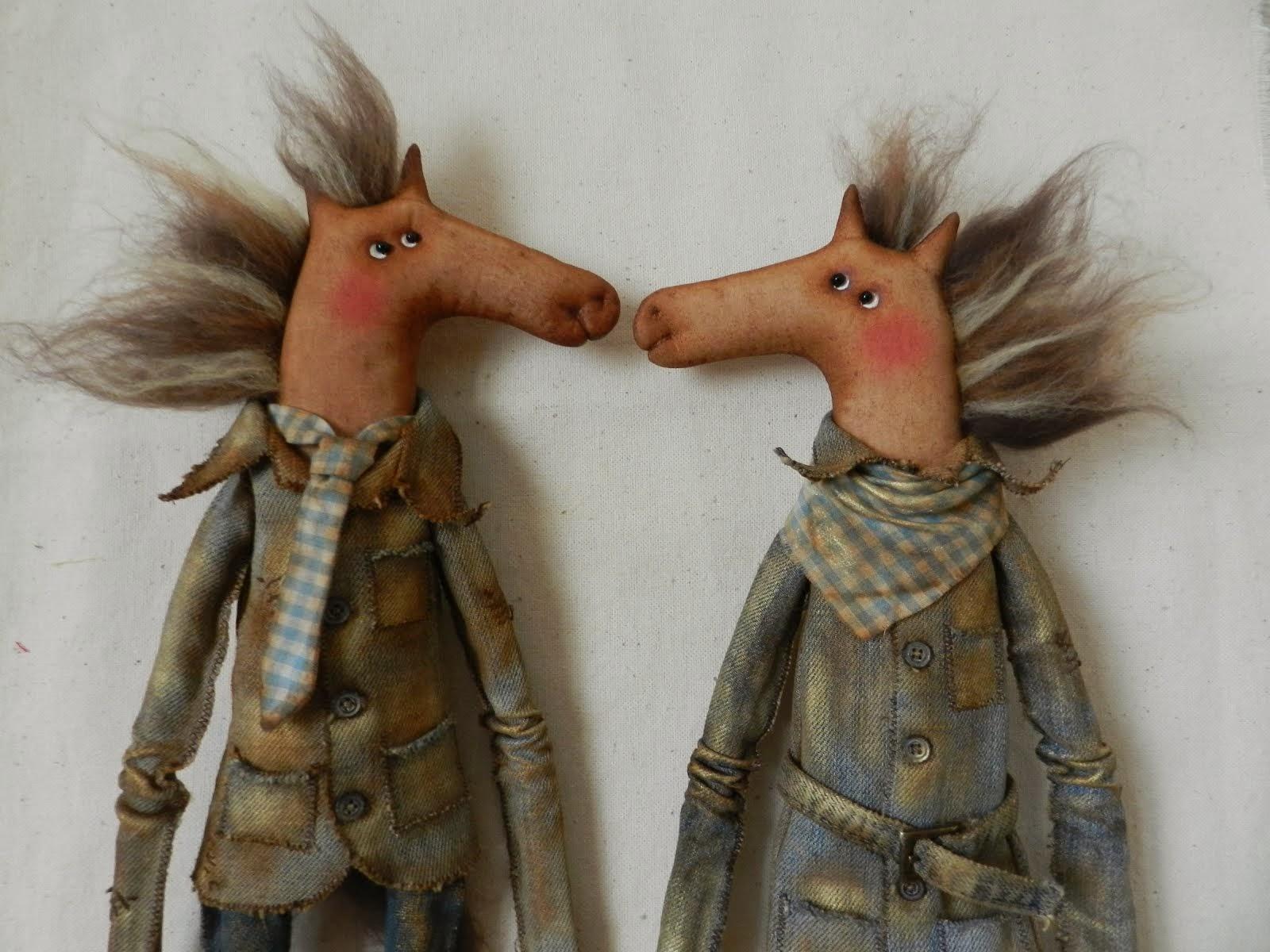 Влюбленные коняшки