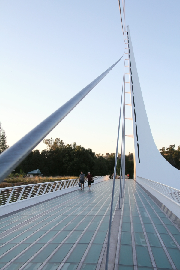 Tagabonds Sundial Bridge Redding Ca