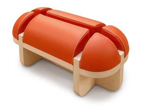 Matali Crasset Orange Lounge Chair