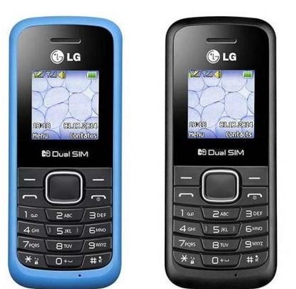 Celular dual chip LG B220