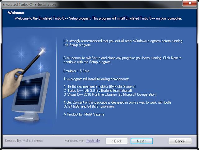 Turbo C Compiler For Windows 7 Free Download 32 64 Bit