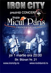 Concert Micul Paris in Damage Club