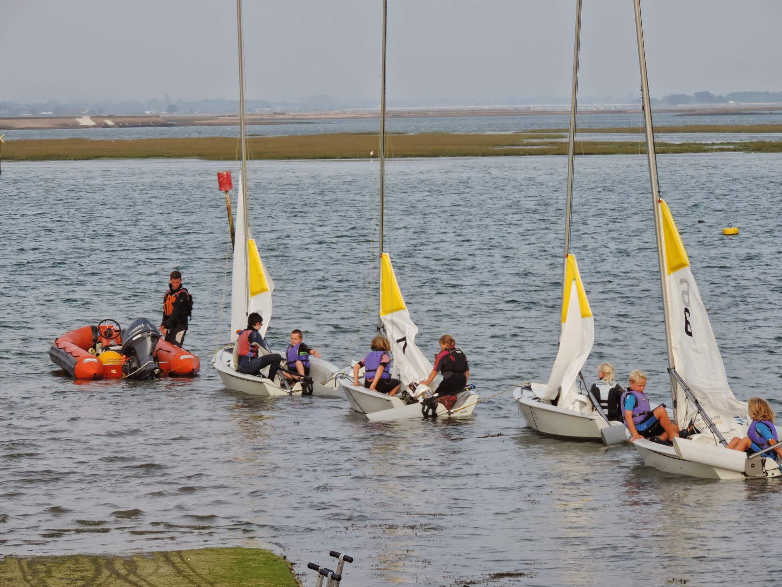 portsmouth watersports centre sailing lessons
