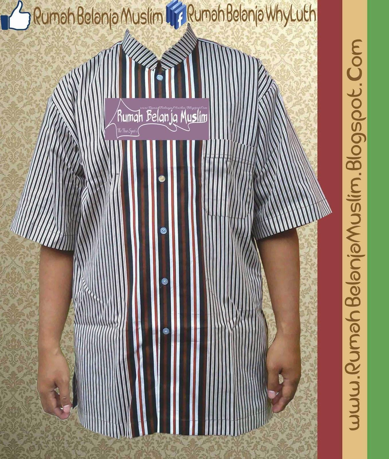 Baju Koko Salur Katun Jepang