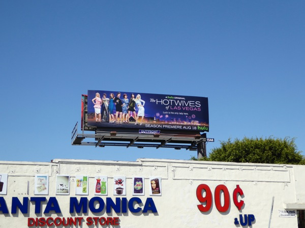 Hot Wives of Las Vegas Hulu billboard