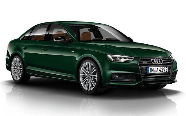 Audi A4 2016 Verde Goodwood