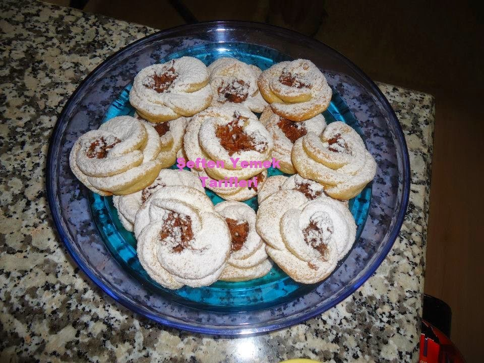 gül kurabiyesi nasıl yapılır