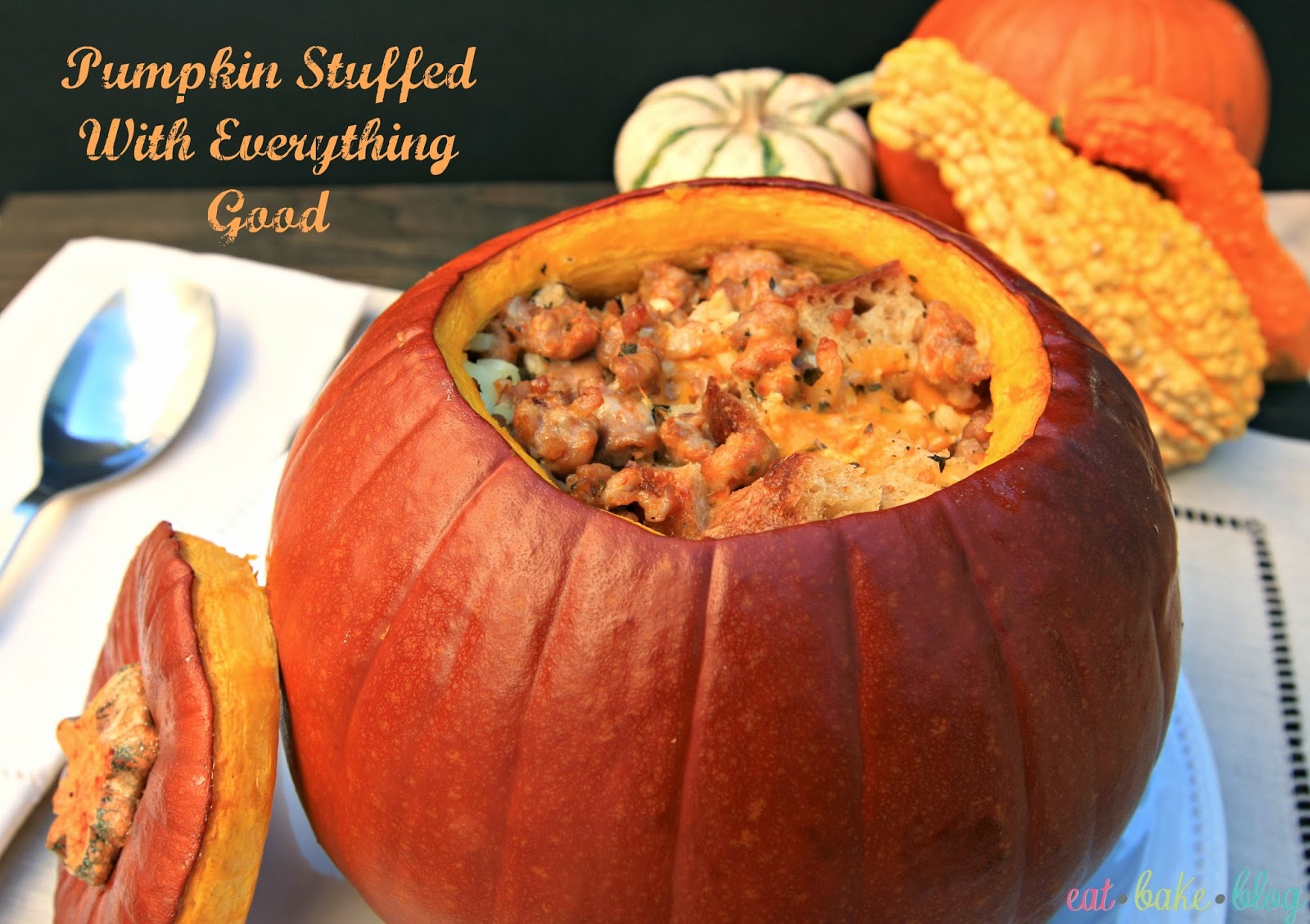 stuffed pumpkin recipe best stuffed pumpkin bread pudding casserole