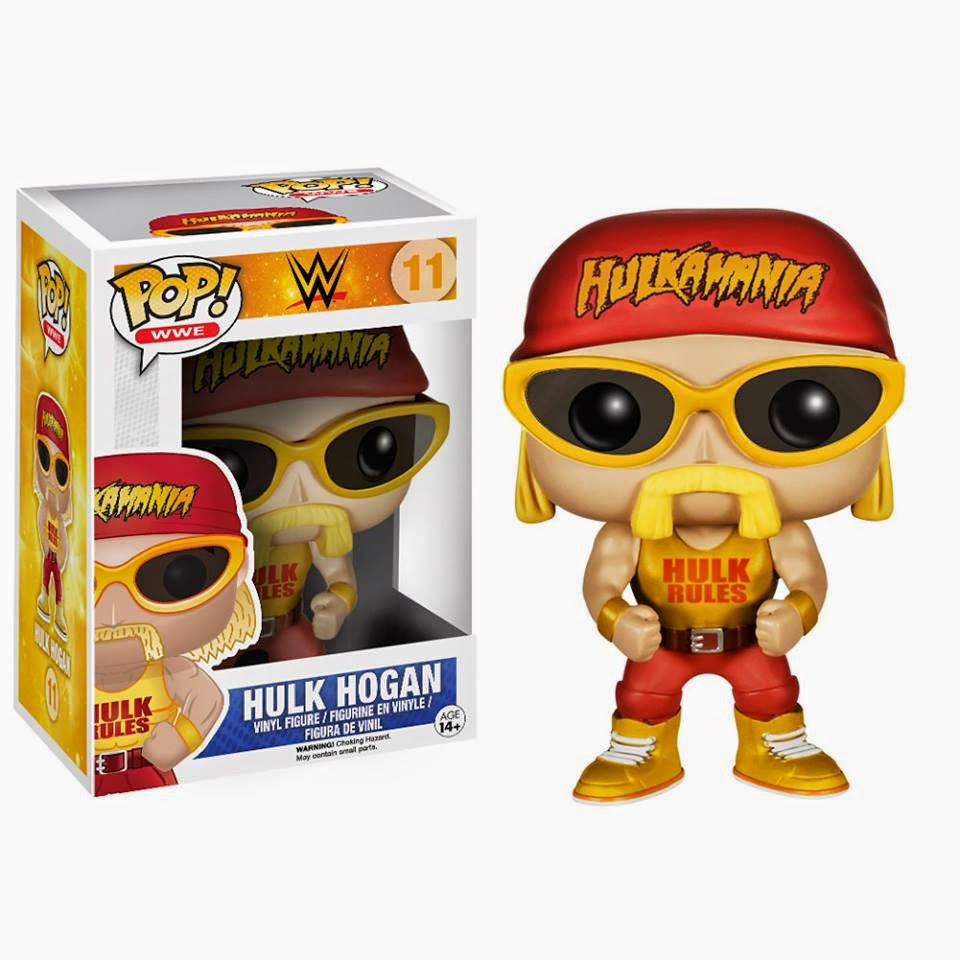Funko Pop! HULK HOGAN exclusiva WWE