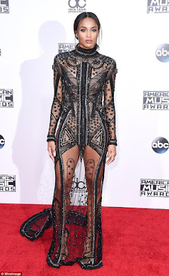 red carpet American Music awards 2015 CIARA