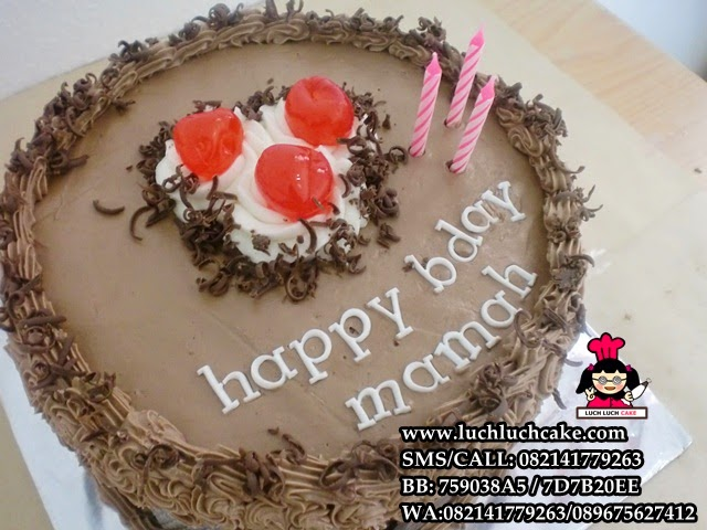 kue tart blackforest mini murah