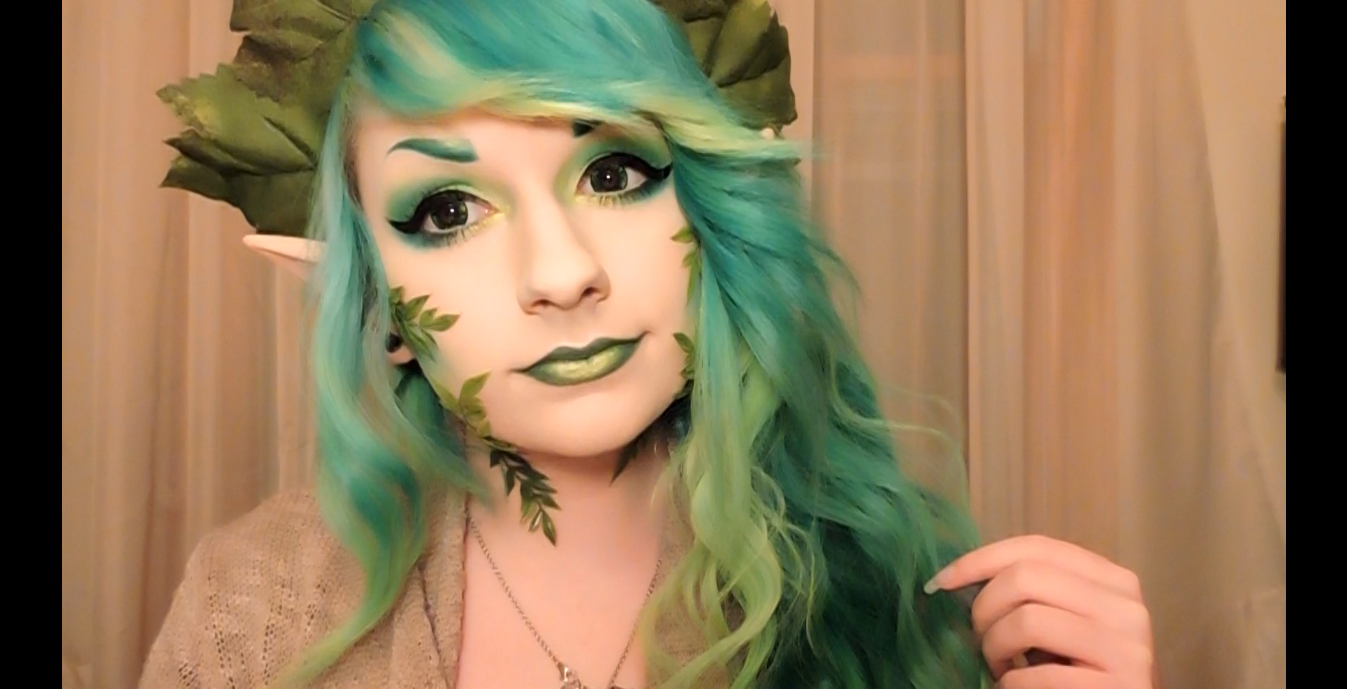 Forest Fairy Makeup for Halloween Forest Fairy Makeup for Halloween new picture