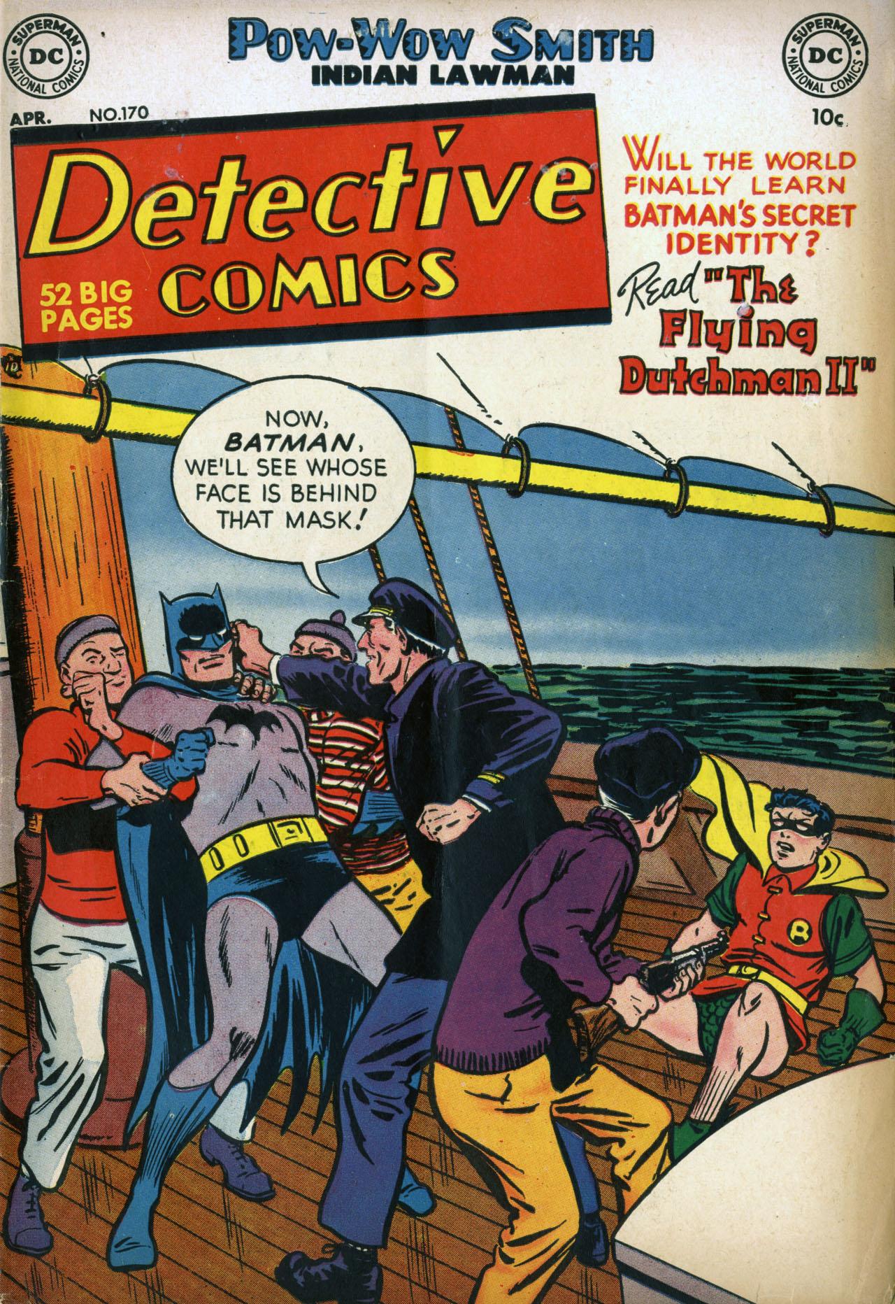 Detective Comics (1937) 170 Page 1