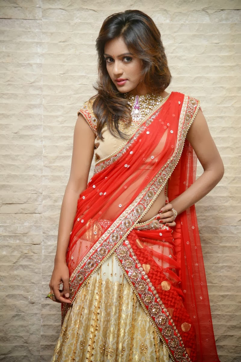 Actress Vithika Seru Latest Cute Hot Exclusive Red