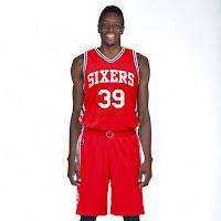 Philadelphia 76ers Rebranded Alternate Red Jersey