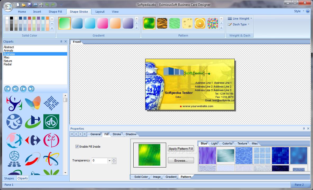 الشخصيه والتجاريه EximiousSoft Business Card Designer 5.08 crack 2016 EximiousSoft+Busin
