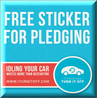 bumper sticker freebie