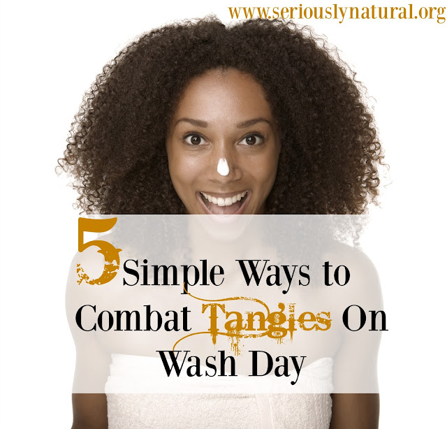5 Simple Ways To Combat Tangles On Wash Day