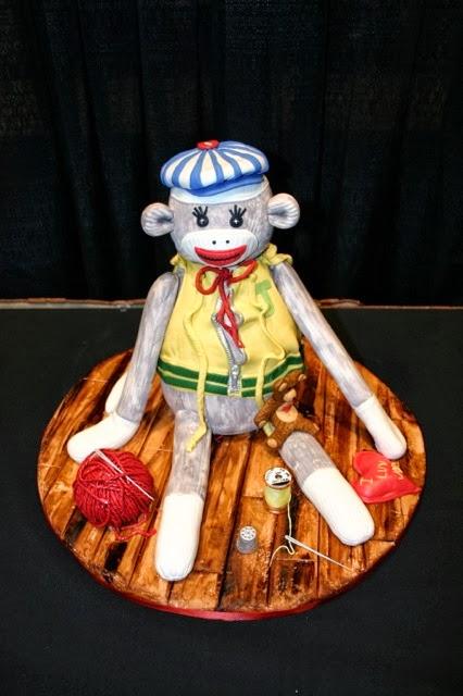 Sock Monkey Cake Food Network Challenge