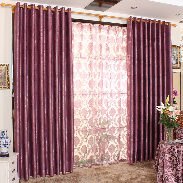 Living Room Design Ideas With Romantic Curtain