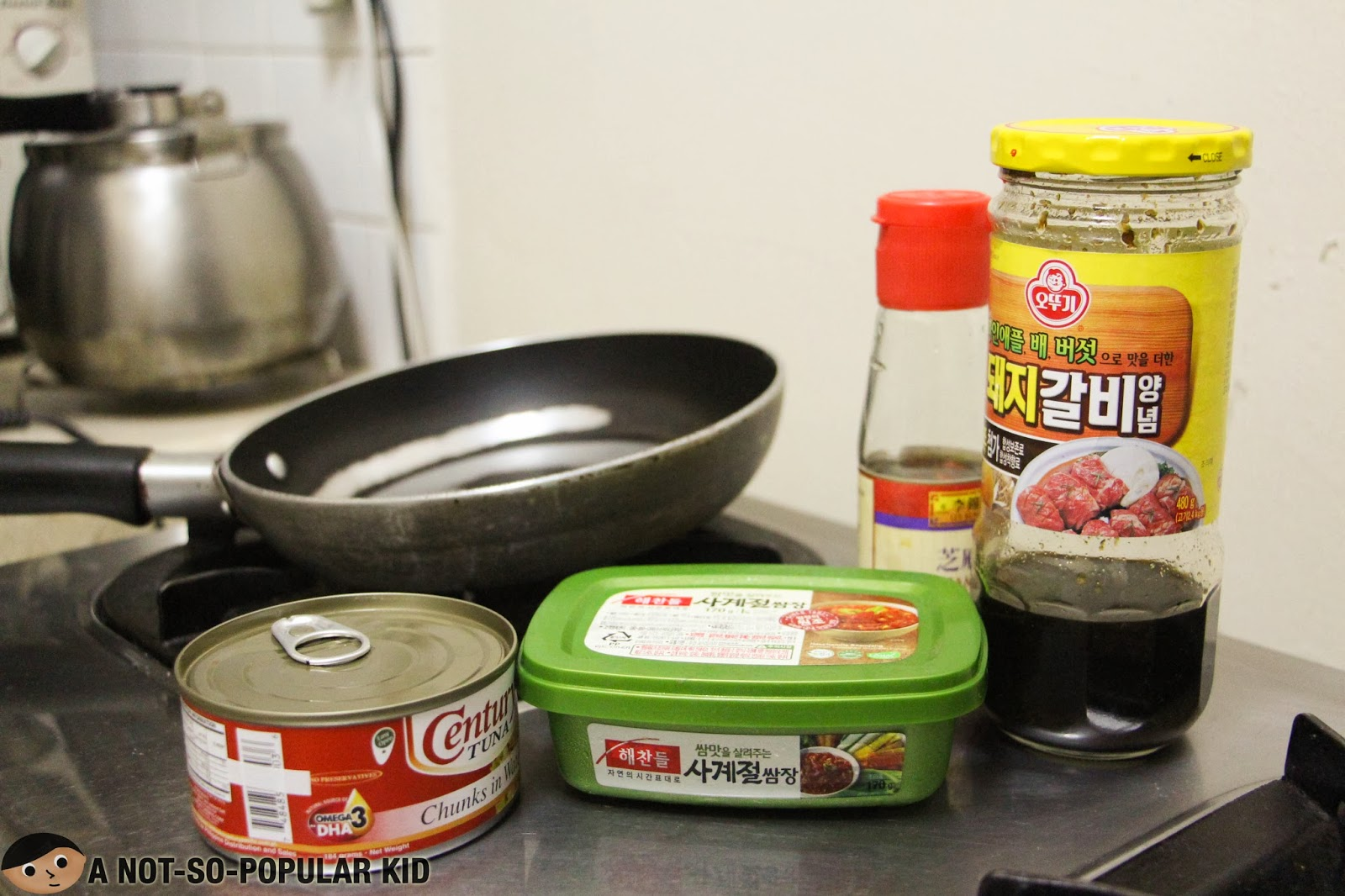 "Making Tuna ""Samgyeopsal"" the Easy Way"