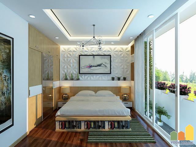 Thiết kế nội thất phòng ngủ sang trọng 02
