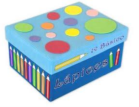 B aprende en casa taller preparamos cajas y botes - Decorar una caja de zapatos para ninos ...