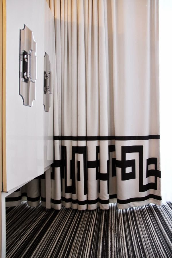 Drapery Embellishing On Pinterest Greek Key Window Treatments And Curtains