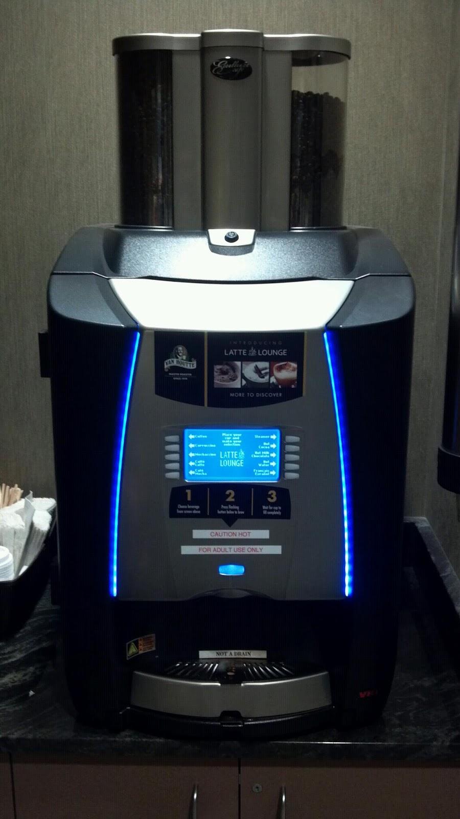 work coffee machine