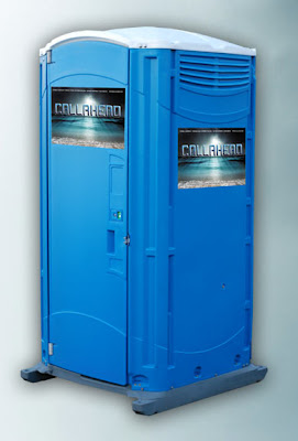 Blue Water Portable Toilet