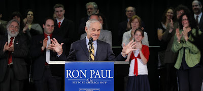 antiwar republican ron paul declares presidential candidacy