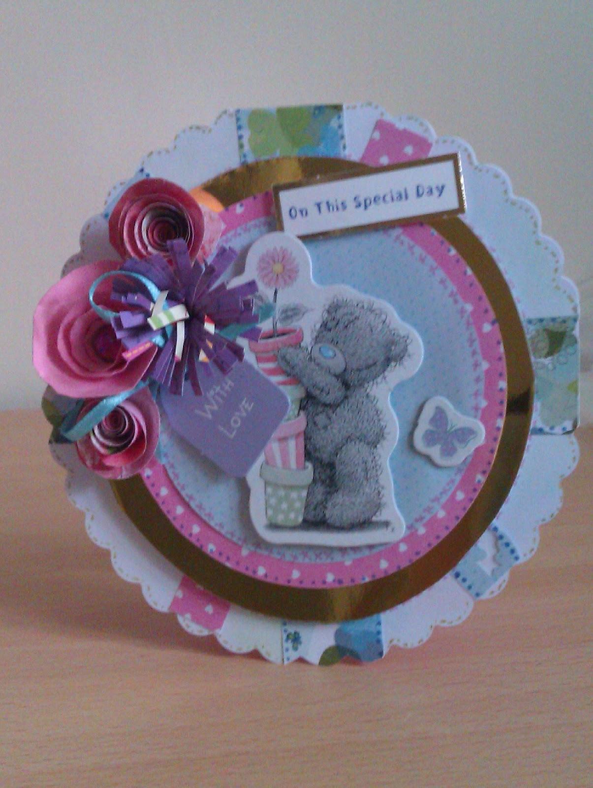 Rayley Crafts Handmade Tatty Ted Cards