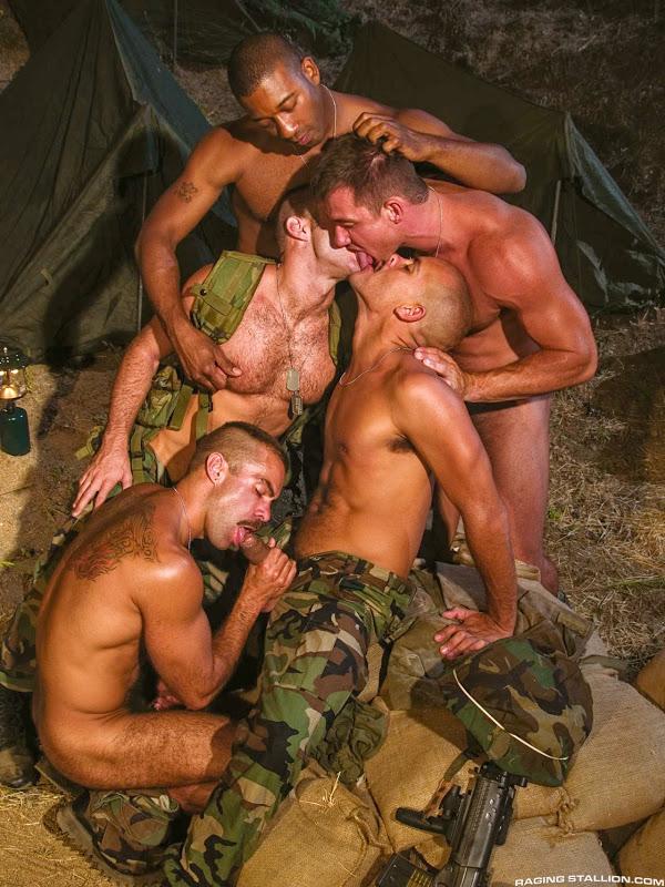 from Azariah gay male military orgies