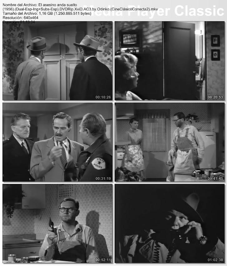 Imágenes de la película, El asesino anda suelto | 1956 | The Killer is Loose