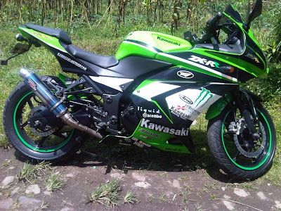 Foto Atau Gambar Modifikasi Ninja 4tak 250cc Terbaru