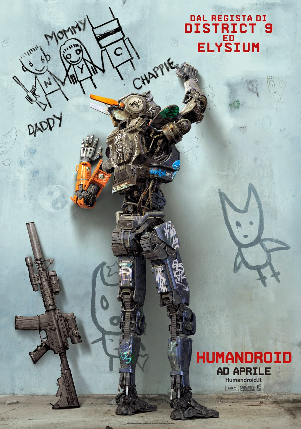 Humandroid Chappie recensione