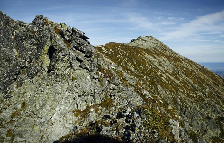 Widok z Żółtej Przełęczy