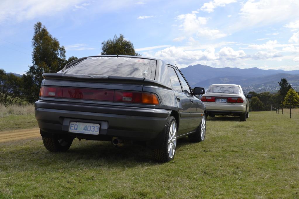 Mazda 323F, BG, BA, popularne samochody z lat 90, japońskie, kultowe modele, cenione, fotki, zdjęcia
