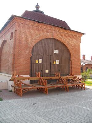 Трансформаторная будка в Казанском кремле