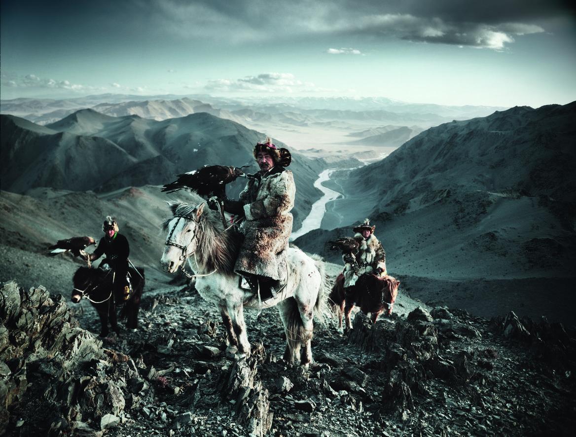 Stunning Photographs Of The World's Last Indigenous Tribes - KAZAKH EAGLE HUNTING