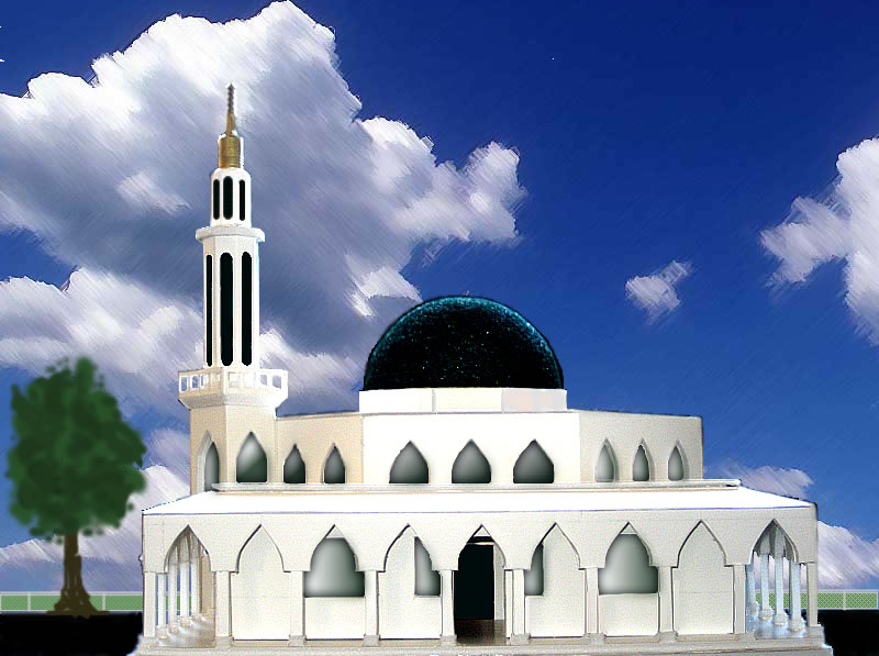 Contoh Gambar Masjid