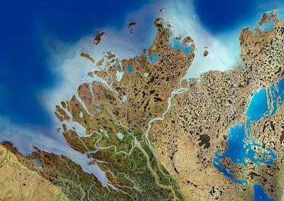 Delta do Rio Mackenzie – Canadá